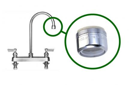 Low Flow Faucets - Office