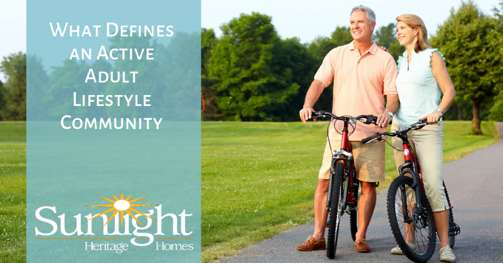 What Defines an Active Adult Lifestyle Community