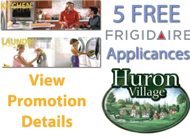 Huron Village - FREE Applicances Promotion